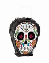 Skull Day Of The Dead Mini Skull Pinata (1)